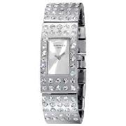 Identity Ladies Stone Set Bangle Watch